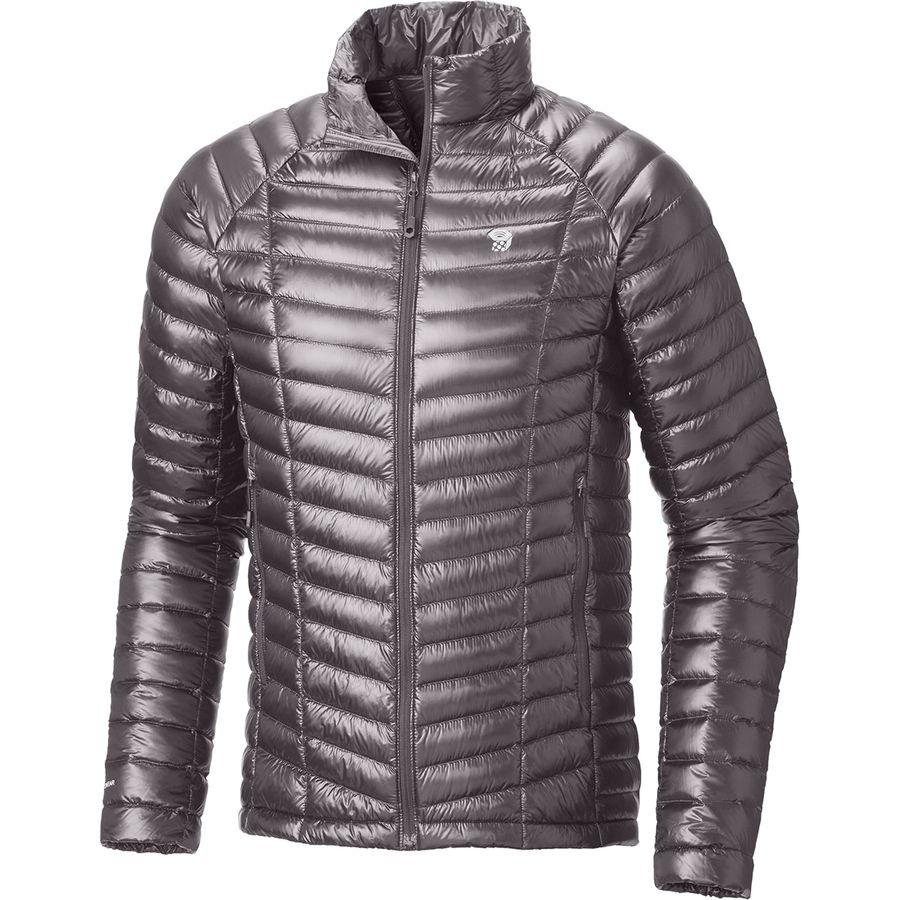 (取寄)マウンテンハードウェア メンズ ゴースト ウィスパラー ダウン ジャケット Mountain Hardwear Men's Ghost Whisperer Down Jacket Manta Grey