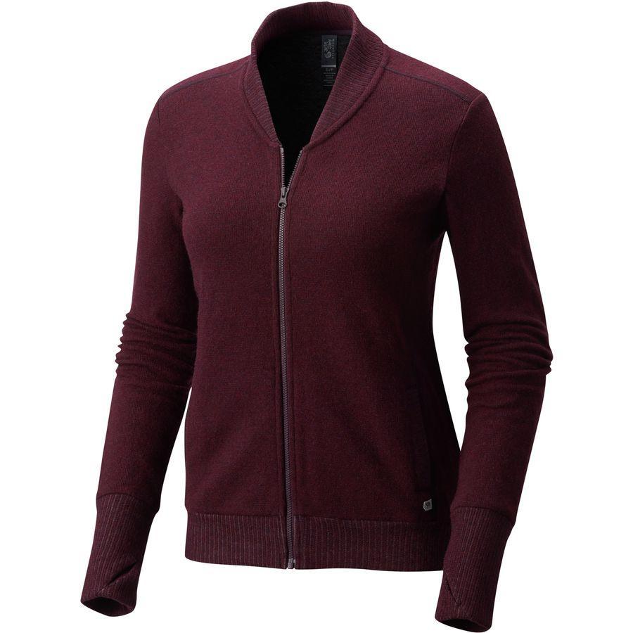 (取寄)マウンテンハードウェア レディース セラファン ボンバー ジャケット Mountain Hardwear Women Sarafin Bomber Jacket Cote Du Rhone