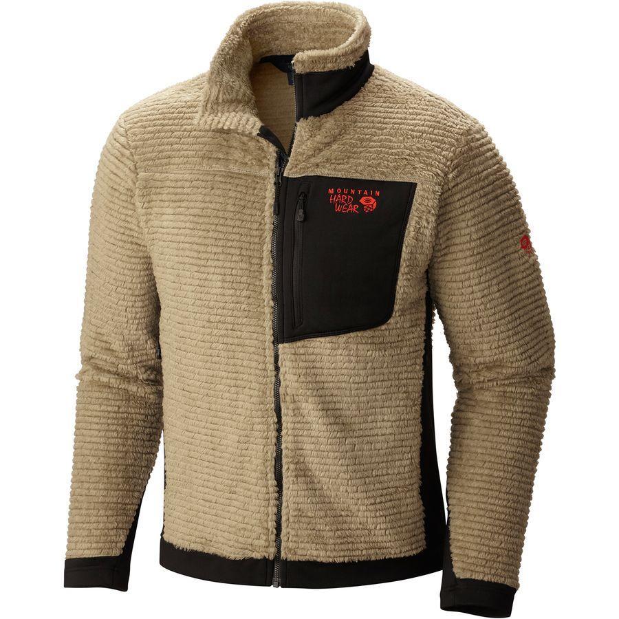 (取寄)マウンテンハードウェア メンズ モンキー メンズ フリース ジャケット Mountain Hardwear Men's Monkey Man Fleece Jacket Khaki