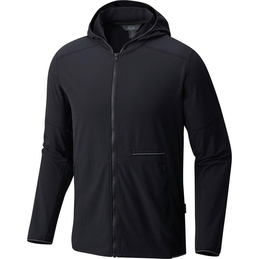 【在庫有】 (取寄)マウンテンハードウェア Jacket メンズ スピードストーン フーデッド ジャケット Hooded Mountain Hardwear Mountain Men's Speedstone Hooded Jacket Black, ビラトリチョウ:6be168d0 --- clftranspo.dominiotemporario.com