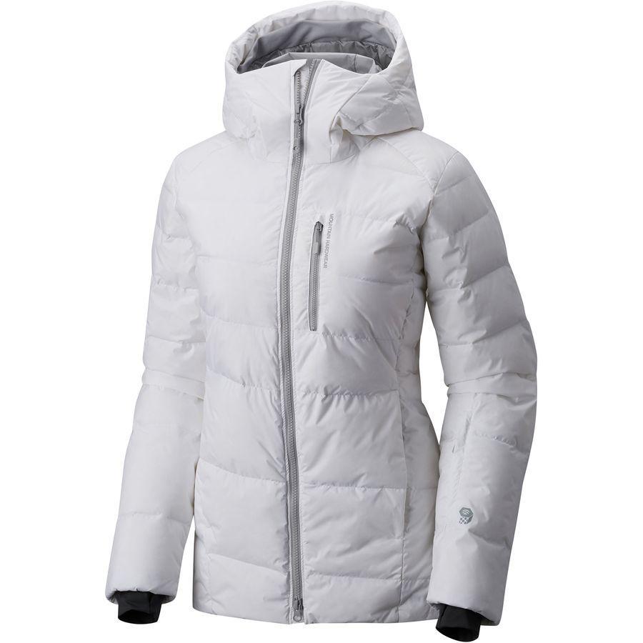 (取寄)マウンテンハードウェア レディース スノーバシン ダウン ジャケット Mountain Hardwear Women Snowbasin Down Jacket White