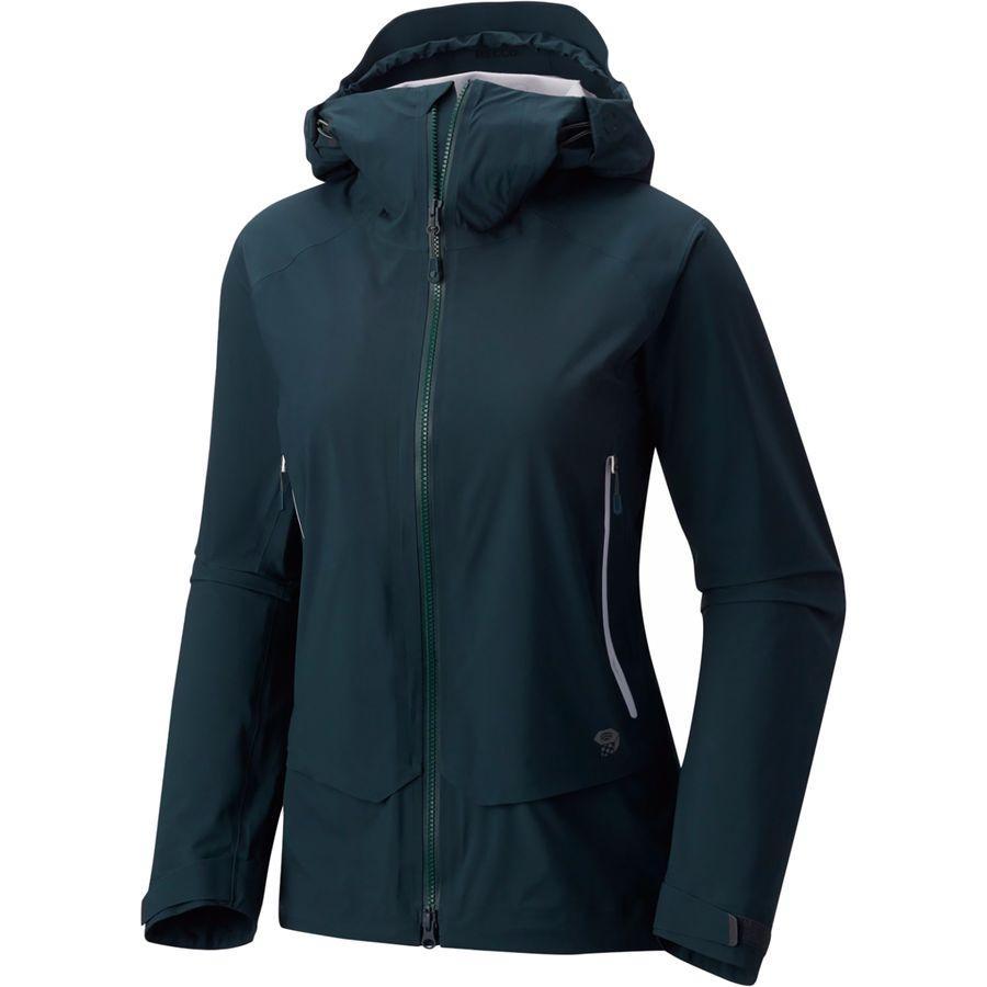 (取寄)マウンテンハードウェア レディース スーパーフォーマ ジャケット Mountain Hardwear Women Superforma Jacket Blue Spruce