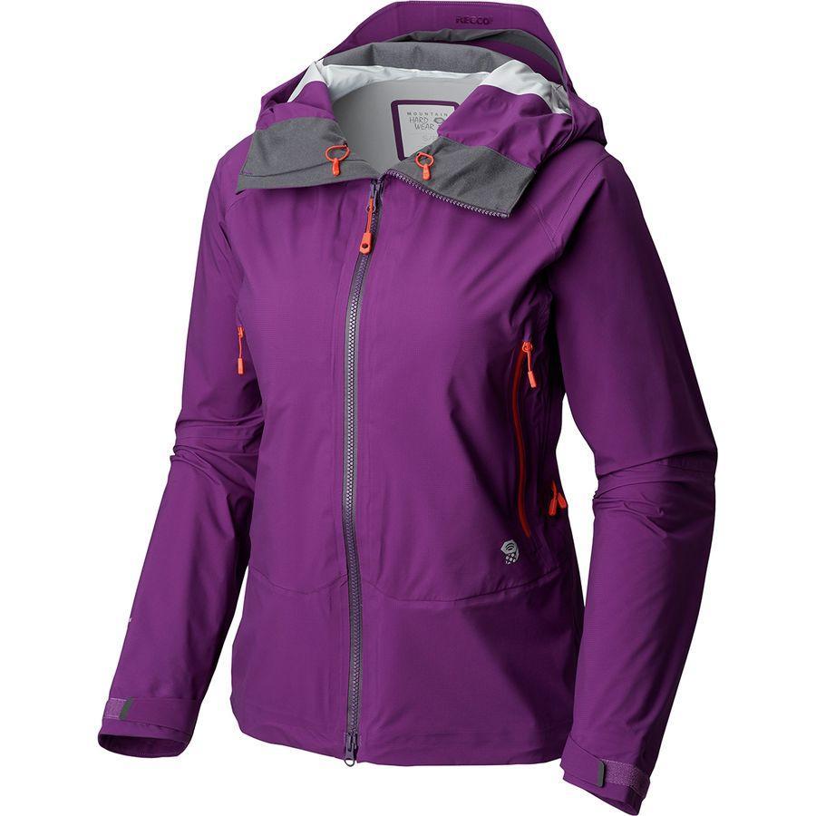 (取寄)マウンテンハードウェア レディース スーパーフォーマ ジャケット Mountain Hardwear Women Superforma Jacket Cosmos Purple