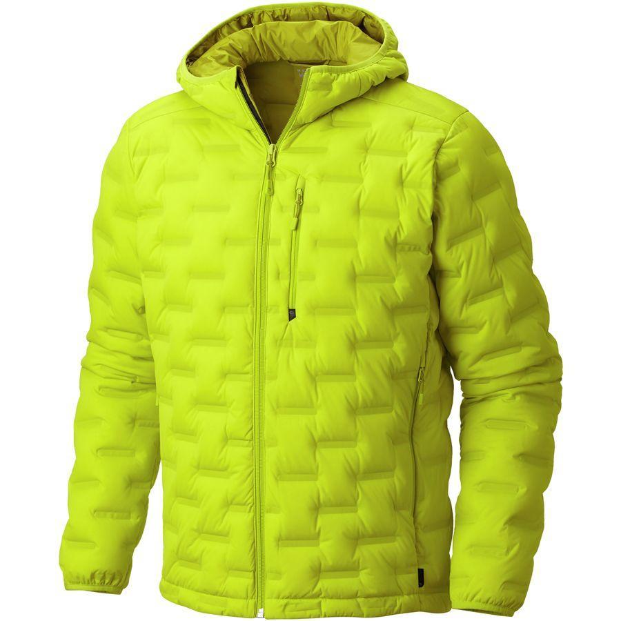 (取寄)マウンテンハードウェア メンズ ストレッチダウン DS フーデッド ジャケット Mountain Hardwear Men's StretchDown DS Hooded Jacket Fresh Bud