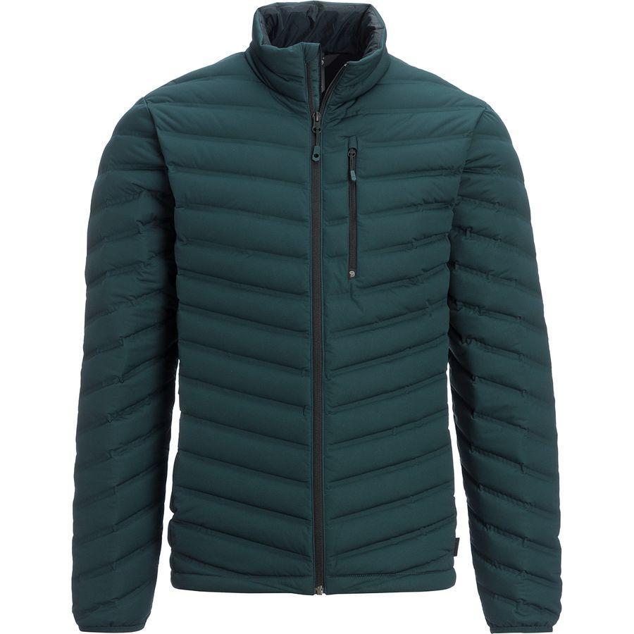 (取寄)マウンテンハードウェア メンズ ストレッチ ダウン ジャケット Mountain Hardwear Men's Stretch Down Jacket Blue Spruce