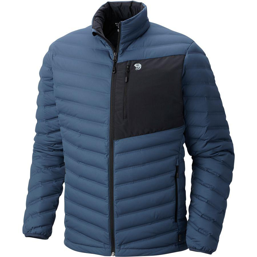 (取寄)マウンテンハードウェア メンズ ストレッチ ダウン ジャケット Mountain Hardwear Men's Stretch Down Jacket Zinc