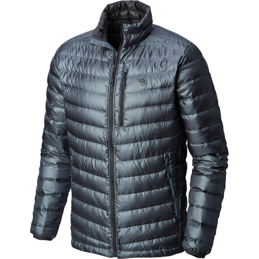 (取寄)マウンテンハードウェア メンズ ナイトロス ダウン ジャケット Mountain Hardwear Men's Nitrous Down Jacket Machine Blue