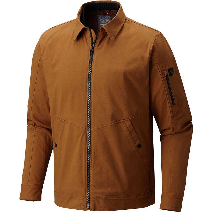 (取寄)マウンテンハードウェア メンズ ハードウェアー AP ジャケット Mountain Hardwear Men's Hardwear AP Jacket Golden Brown