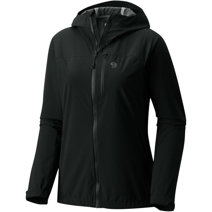(取寄)マウンテンハードウェア レディース ストレッチ オゾニック ジャケット Mountain Hardwear Women Stretch Ozonic Jacket Black
