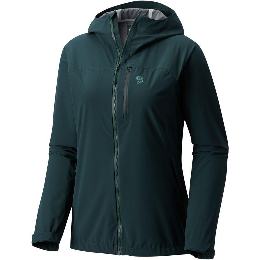 (取寄)マウンテンハードウェア レディース ストレッチ オゾニック ジャケット Mountain Hardwear Women Stretch Ozonic Jacket Blue Spruce