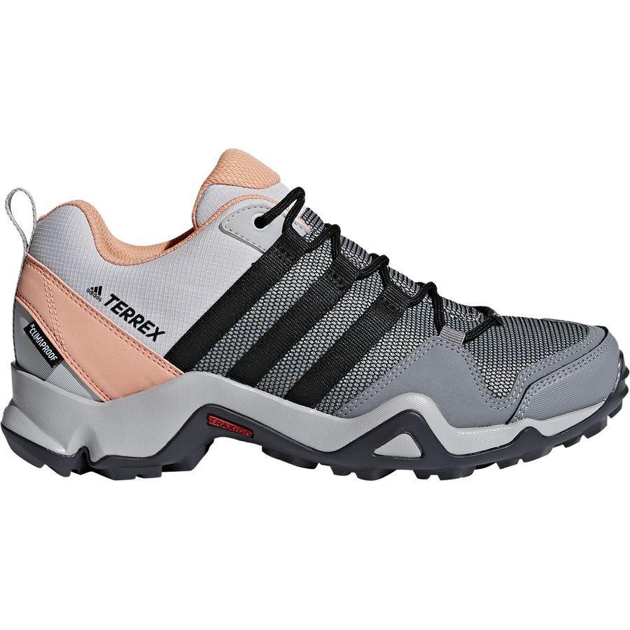 (取寄)アディダス レディース アウトドア テレックス AX2 CP ハイキングシューズ Adidas Women Outdoor Terrex AX2 CP Hiking Shoe Grey Two/Black/Chalk Coral