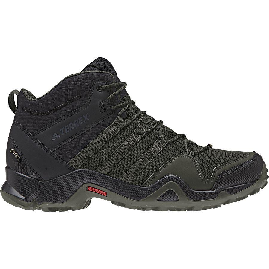 (取寄)アディダス メンズ アウトドア テレックス AX2R ミッド Gtx ハイキング ブーツ Adidas Men's Outdoor Terrex AX2R Mid GTX Hiking Boot Night Cargo/Night Cargo/Black