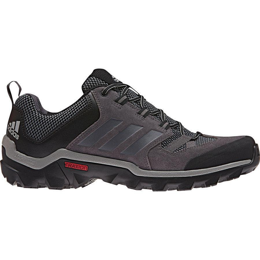 (取寄)アディダス メンズ アウトドア キャップロック ハイキングシューズ Adidas Men's Outdoor Caprock Hiking Shoe Granite/Vista Grey/Black