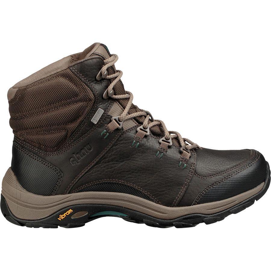 (取寄)アニュ レディース モンタラ 3 FGイーベント ハイキング ブーツ Ahnu Women Montara III FG eVent Hiking Boot Dark Brown