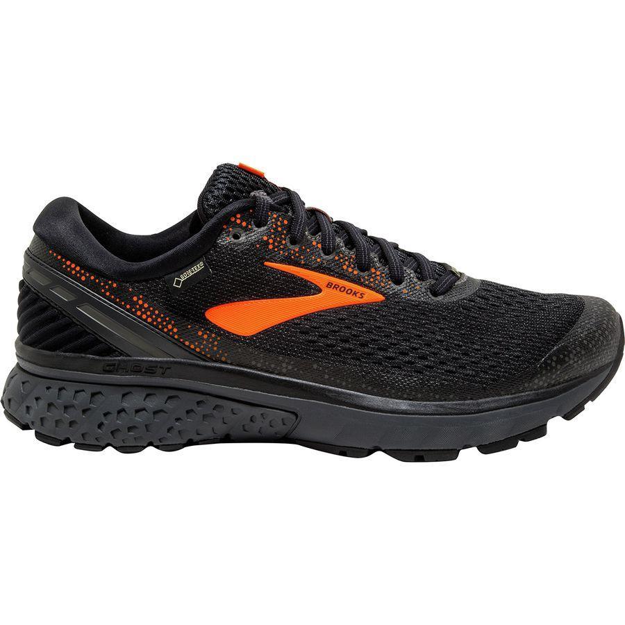 (取寄)ブルックス メンズ ゴースト 11Gtx ランニングシューズ Brooks Men's Ghost 11 GTX Running Shoe Black/Orange/Ebony