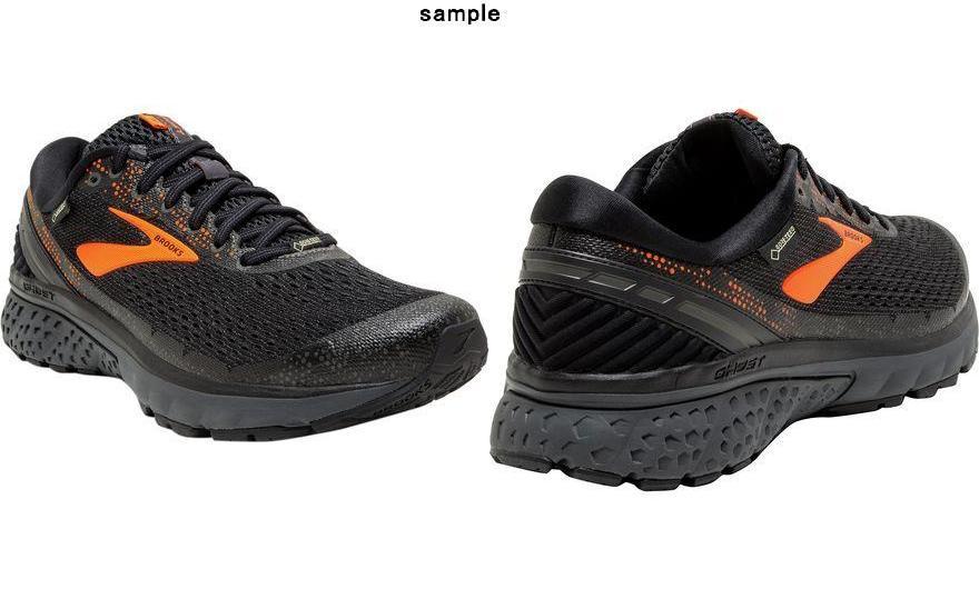 059383ac114 (order) Brooks men ghost 11Gtx running shoes Brooks Men s Ghost 11 GTX  Running Shoe Black Orange Ebony