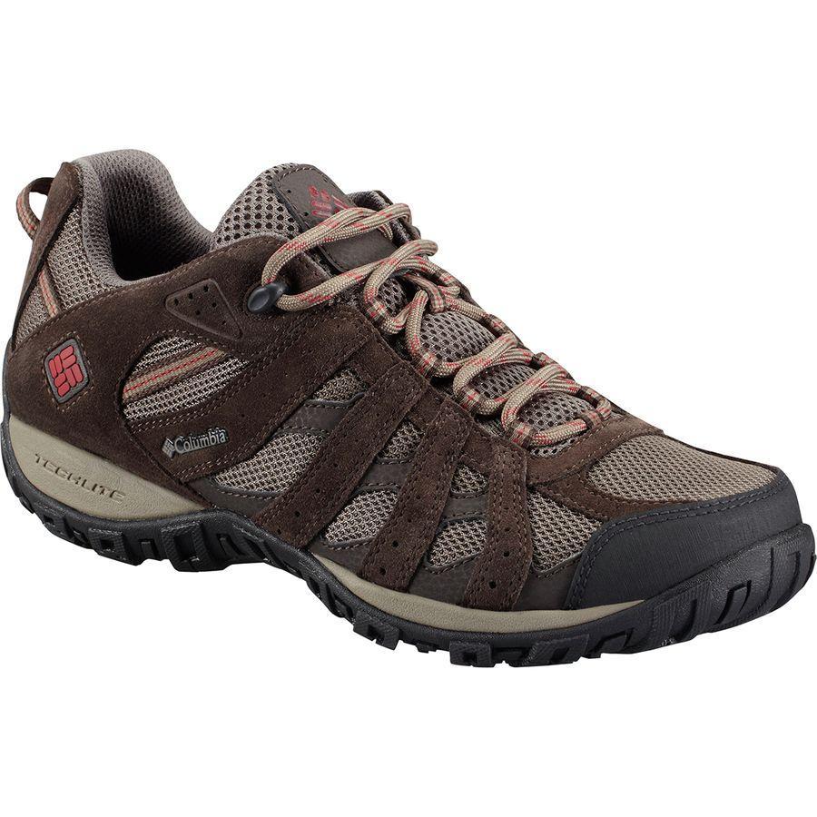 (取寄)コロンビア メンズ レドモンド ハイキングシューズ Columbia Men's Redmond Hiking Shoe Mud/Garnet Red