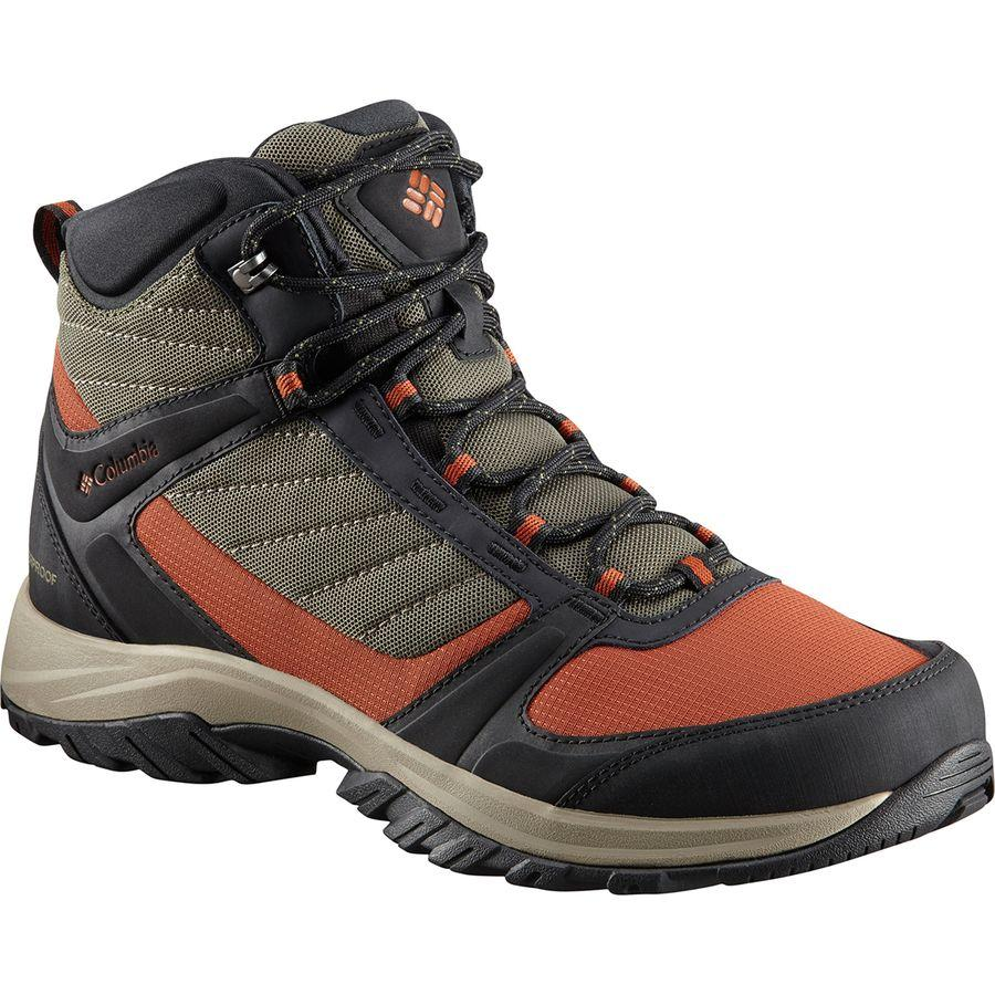 (取寄)コロンビア メンズ テルボンヌ 2 スポーツ ミッド オムニテック ハイキング ブーツ Columbia Men's Terrebonne II Sport Mid Omni-Tech Hiking Boot Nori/Dark Adobe