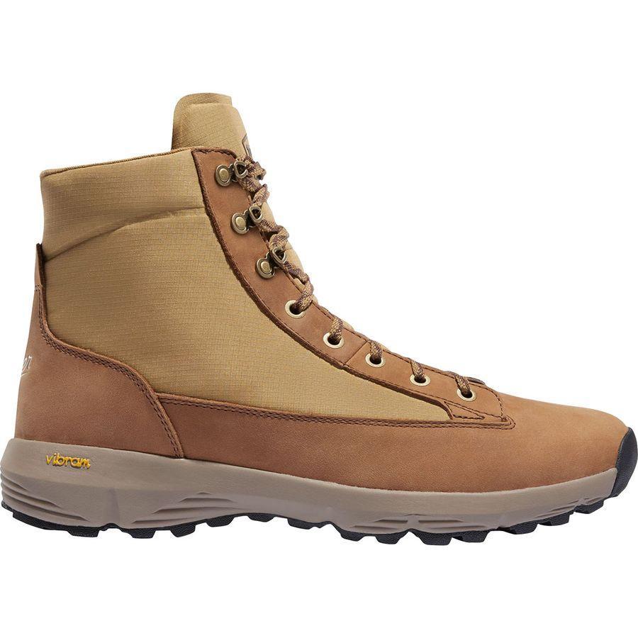 (取寄)ダナー メンズ エクスプローラ 650 ハイキング ブーツ Danner Men's Explorer 650 Hiking Boot Khaki Full Grain Leather