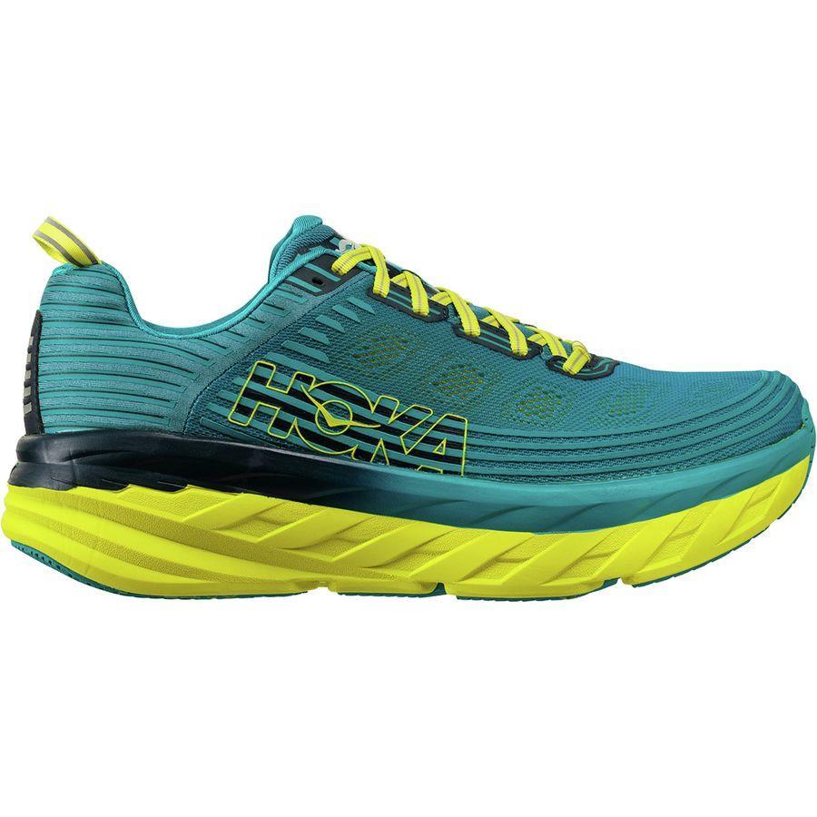 (取寄)ホカ オネオネ メンズ ボンダイ 6 ランニングシューズ Hoka One One Men's Bondi 6 Running Shoe Caribbean Sea/Storm Blue