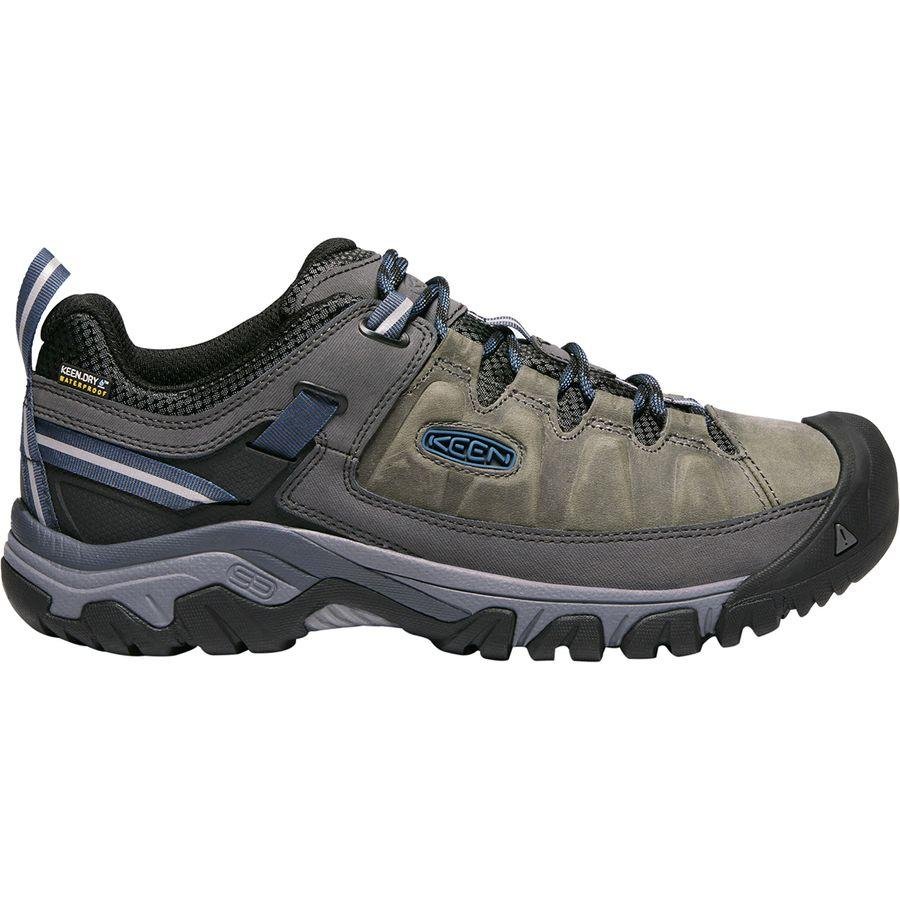 (取寄)キーン メンズ ターギー 3 ハイキングシューズ KEEN Men's Targhee III Hiking Shoe Steel Grey/Captains Blue