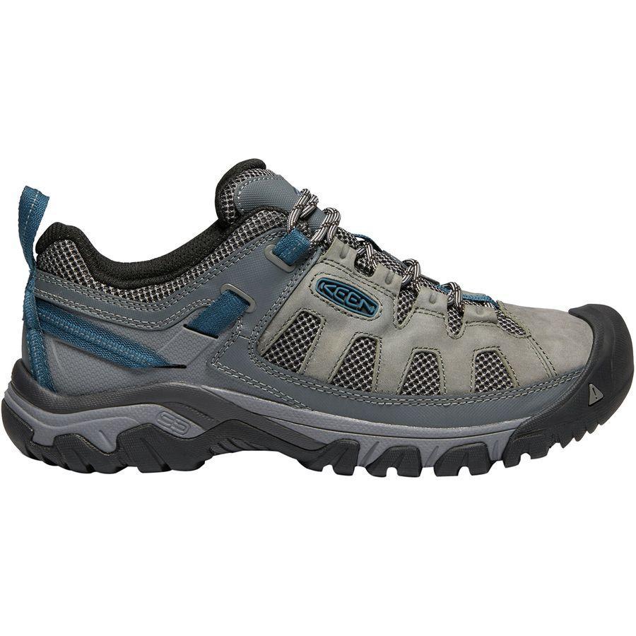配送員設置 (取寄)キーン メンズ ターギー ベント ハイキングシューズ KEEN Men's Targhee Vent Hiking Shoe Basalt/Legion Blue, UNIT 74b9b12a