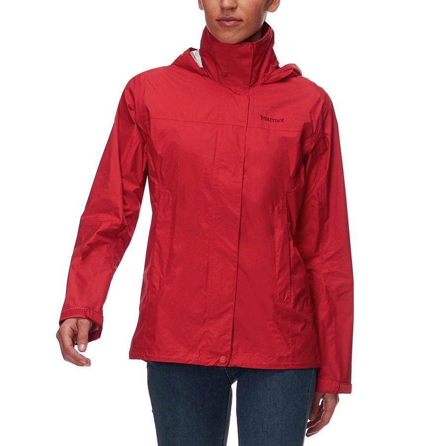 (取寄)マーモット レディース PreCip ジャケット Marmot Women PreCip Jacket Desert Red