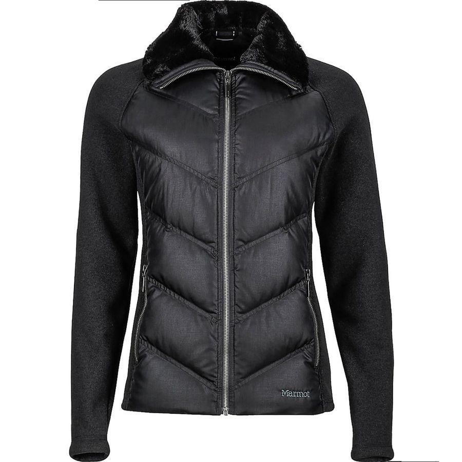 (取寄)マーモット レディース テア ダウン ジャケット Marmot Women Thea Down Jacket Black