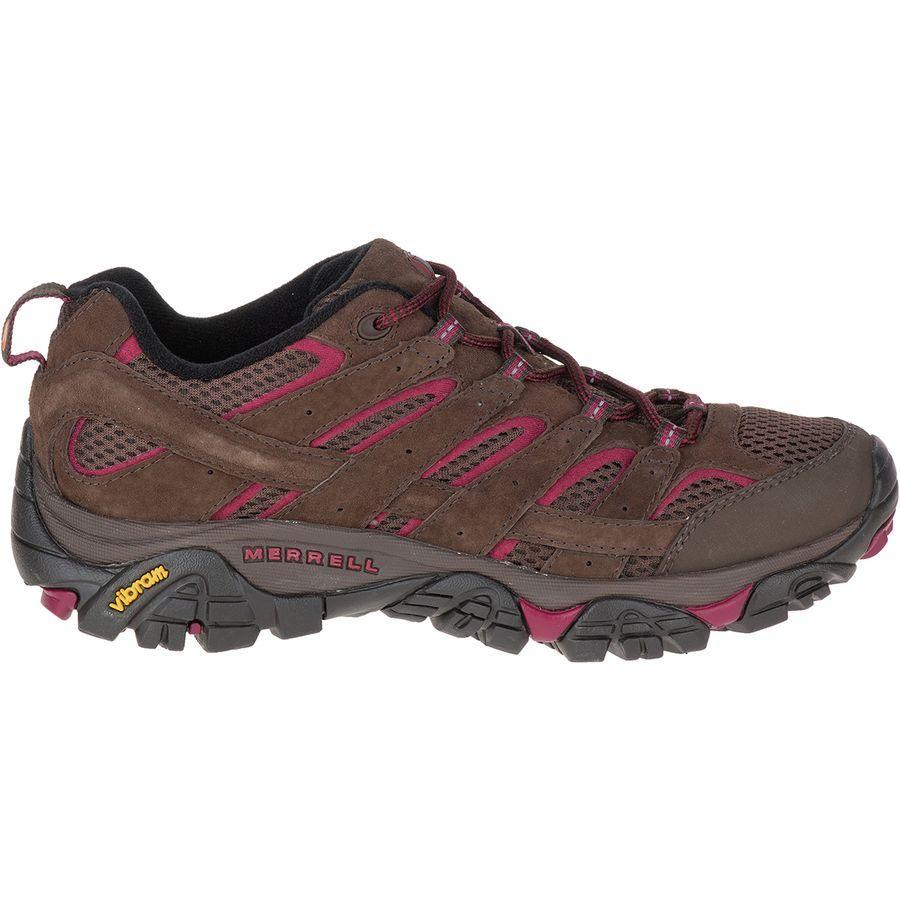 (取寄)メレル レディース モアブ 2 ベント ハイキングシューズ Merrell Women Moab 2 Vent Hiking Shoe Espresso
