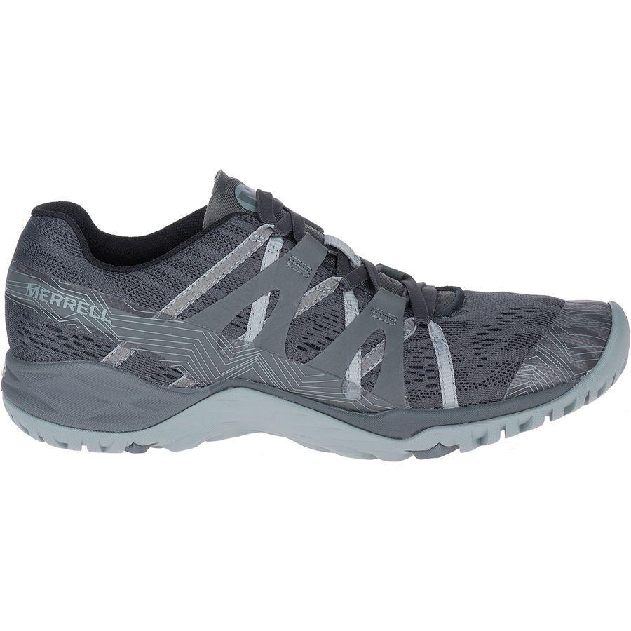 (取寄)メレル レディース サイレン ヘックス Q2 E-Mesh ハイキングシューズ Merrell Women Siren Hex Q2 E-Mesh Hiking Shoe Granite