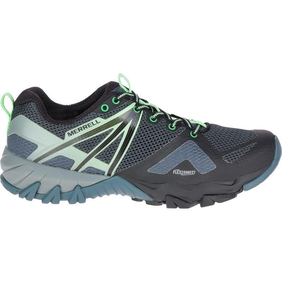 【スニーカー シューズ 靴】【ファッション ブランド ストリート】【レディース 大きいサイズ】 (取寄)メレル レディース MQMフレックス シューズ Merrell Women MQM Flex Shoe Grey/Black