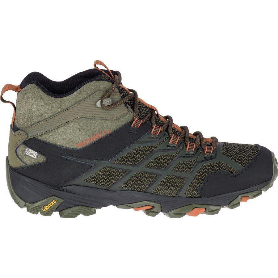 (取寄)メレル メンズ モアブ FST 2 ミッド ブーツ Merrell Men's Moab FST 2 Mid Boot Olive/Adobe