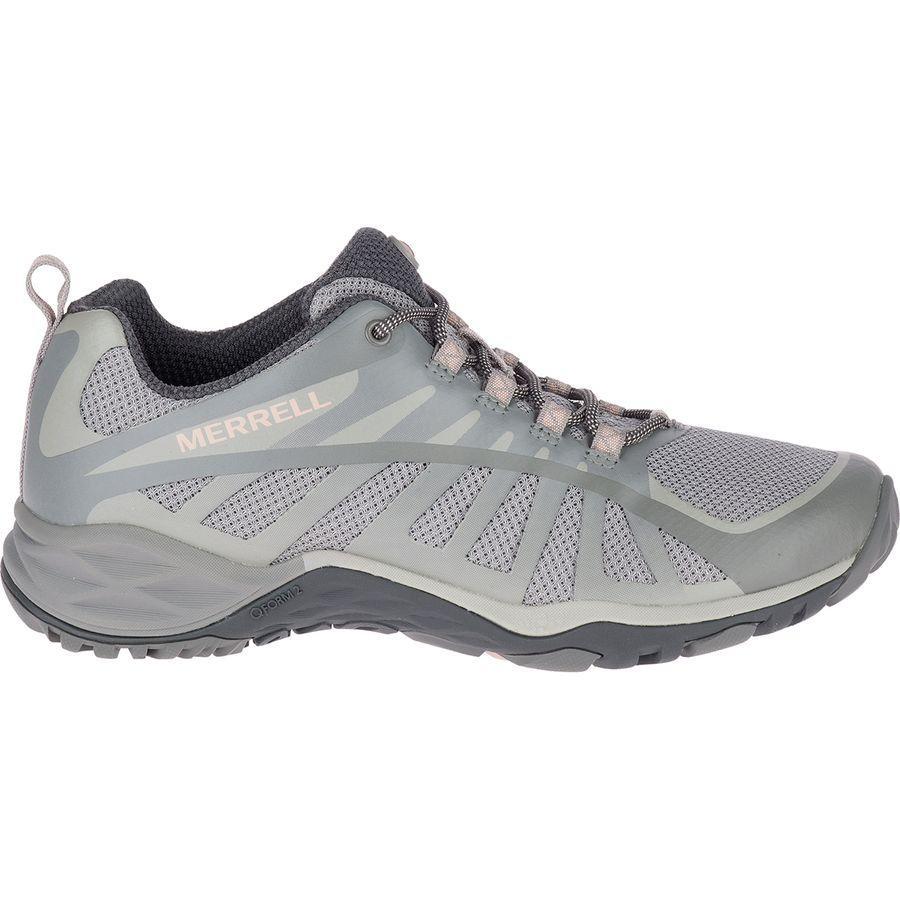 (取寄)メレル レディース サイレン エッジ Q2 ハイキングシューズ Merrell Women Siren Edge Q2 Hiking Shoe Frost