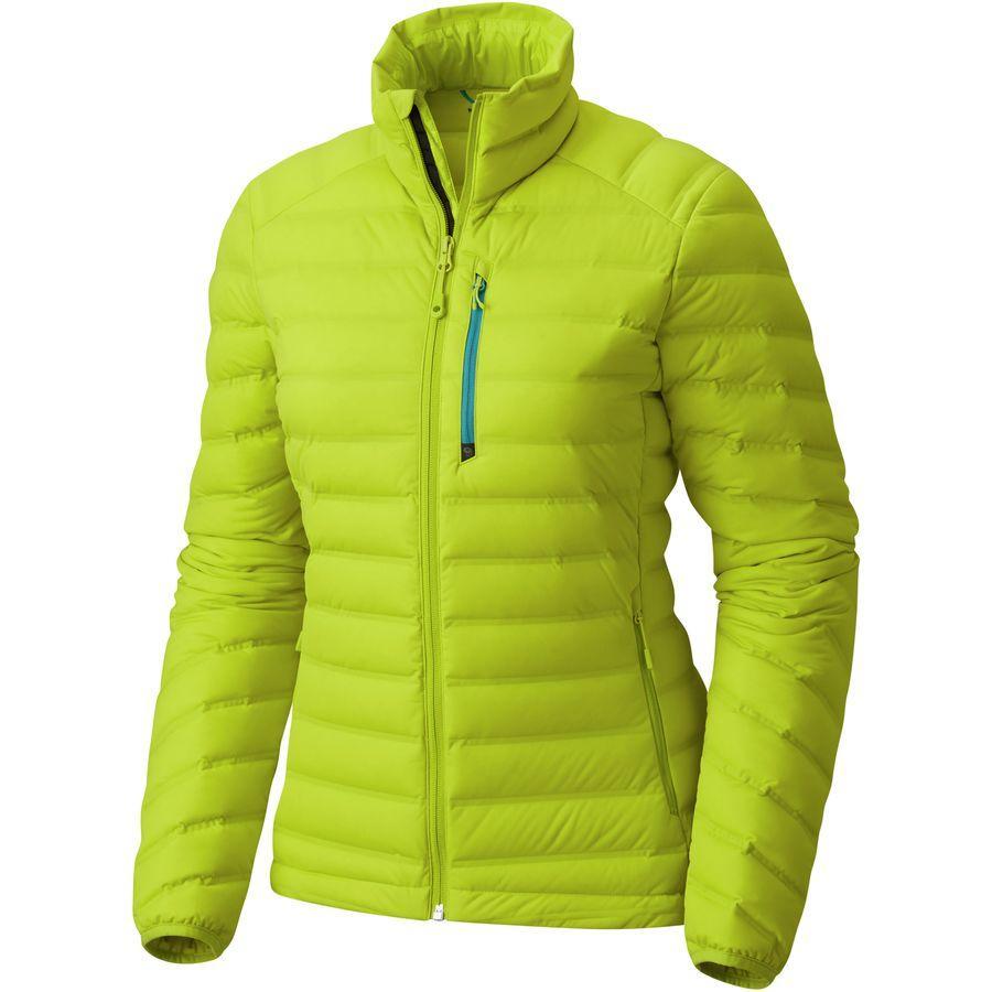 (取寄)マウンテンハードウェア レディース ストレッチダウン ダウン ジャケット Mountain Hardwear Women Stretchdown Down Jacket Fresh Bud