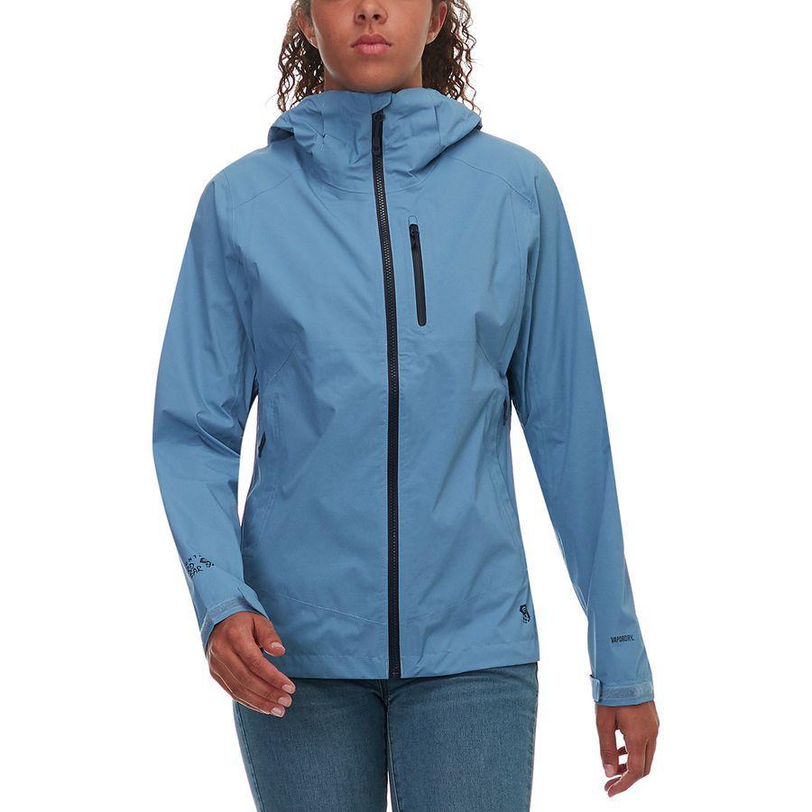 (取寄)マウンテンハードウェア レディース サンダーシャドウ ジャケット Mountain Hardwear Women Thundershadow Jacket Storm Cloud