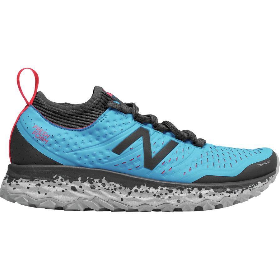 (取寄)ニューバランス レディース フレッシュ フォーム イエロ トレイル ランニングシューズ New Balance Women Fresh Foam Hierro Trail Running Shoe Polaris/Pink Zing/Magnet