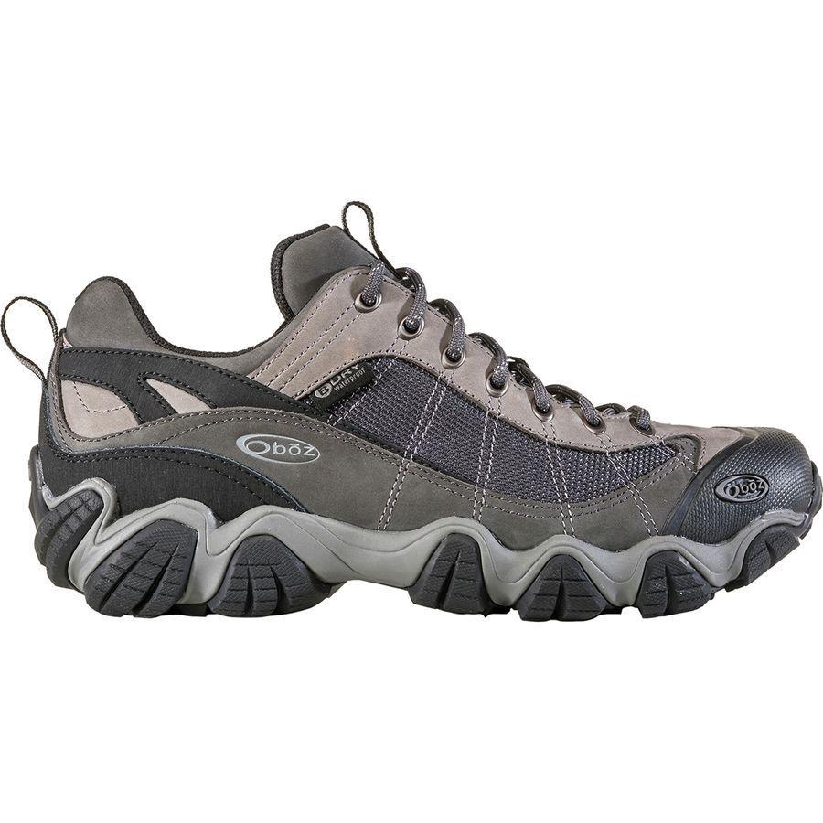 (取寄)オボズ メンズ ファイアーブランド 2 B-Dry ハイキングシューズ Oboz Men's Firebrand II B-Dry Hiking Shoe Gray