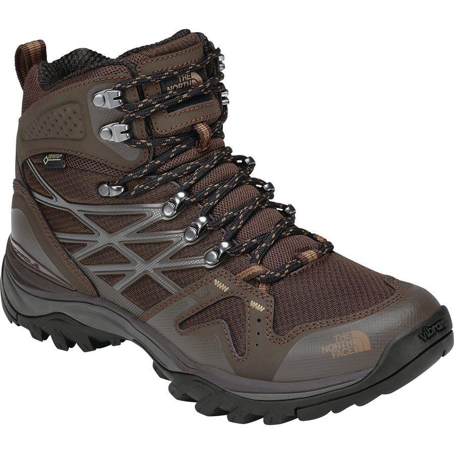 (取寄)ノースフェイス メンズ ヘッジホッグ ファストパック ミッド Gtx ハイキング ブーツ The North Face Men's Hedgehog Fastpack Mid GTX Hiking Boot Chocolate Brown/Cargo Khaki