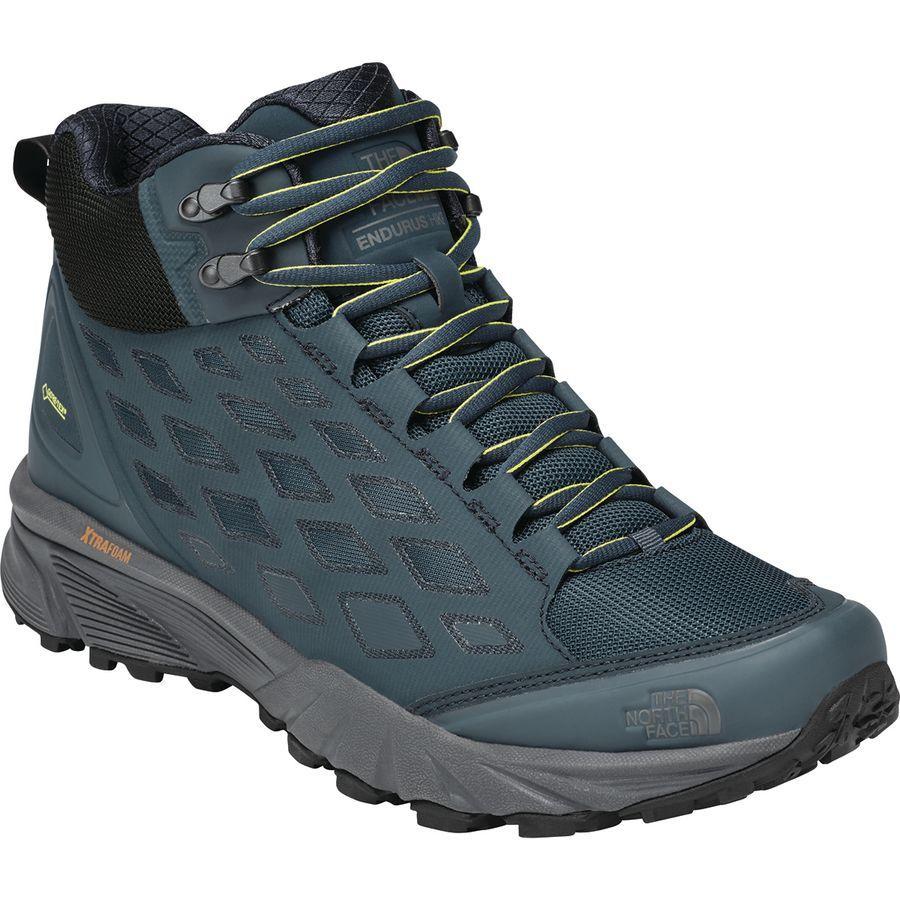 (取寄)ノースフェイス メンズ エンデュラス ハイキング ミッド Gtx ハイキング ブーツ The North Face Men's Endurus Hike Mid GTX Hiking Boot Ink Blue/Phantom Grey