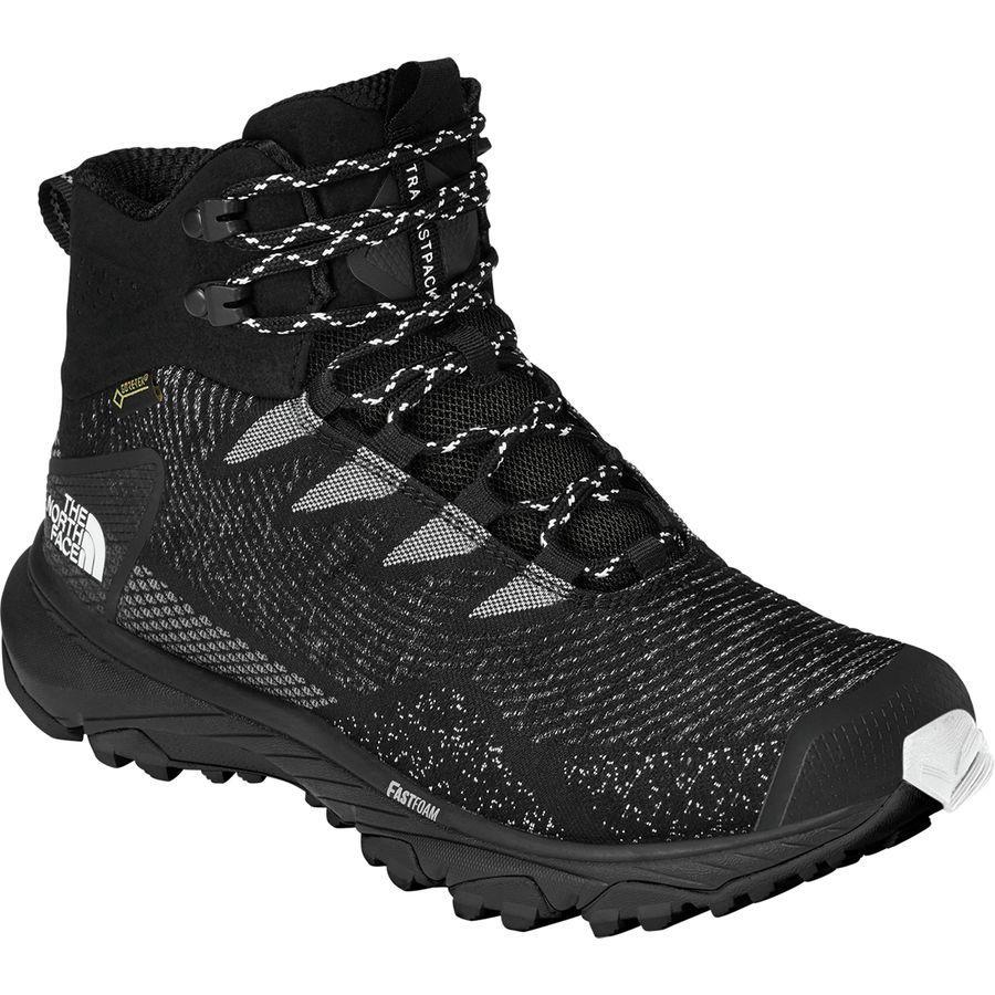 (取寄)ノースフェイス メンズ ウルトラ ファストパック 3 ミッド Gtx ウーヴン ハイキング ブーツ The North Face Men's Ultra Fastpack III Mid GTX Woven Hiking Boot Tnf Black/Tnf White