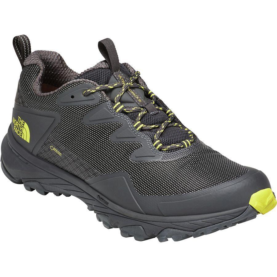 (取寄)ノースフェイス メンズ ウルトラ ファストパック 3 Gtx ハイキングシューズ The North Face Men's Ultra Fastpack III GTX Hiking Shoe Dark Shadow Grey/Acid Yellow