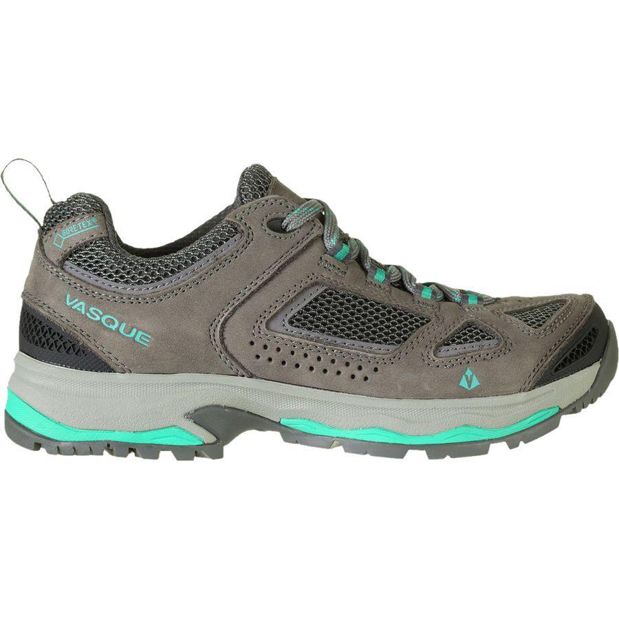 (取寄)バスク レディース ブリーズ 3 ロウ Gtx ハイキングシューズ Vasque Women Breeze III Low GTX Hiking Shoe Gargoyle/Columbia