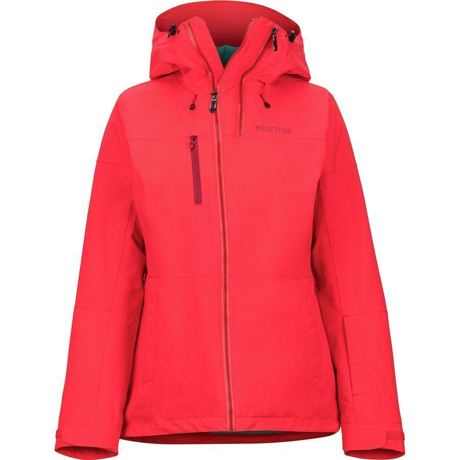 (取寄)マーモット レディース ドロップウェイ ジャケット Marmot Women Dropway Jacket Scarlet Red