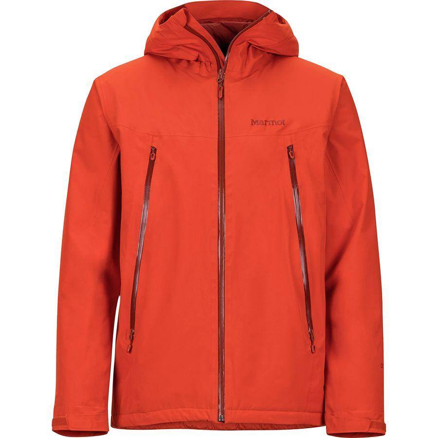 (取寄)マーモット メンズ ソラリス ジャケット Marmot Men's Solaris Jacket Orange Haze