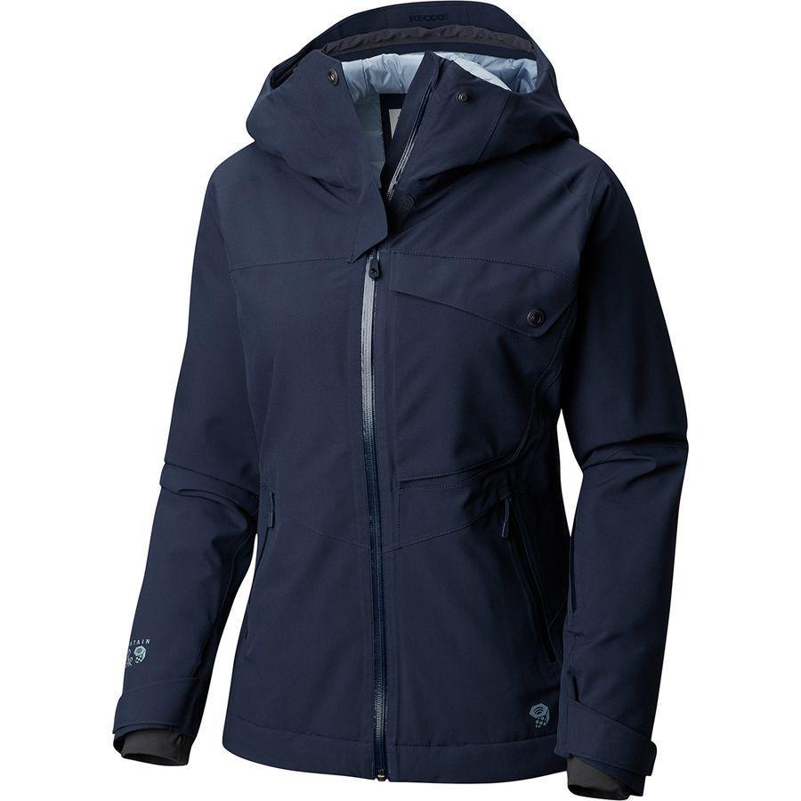 (取寄)マウンテンハードウェア レディース メイバード インサレーテッド ジャケット Mountain Hardwear Women Maybird Insulated Jacket Dark Zinc