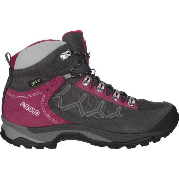 (取寄)アゾロ レディース ファルコン GV ハイキング ブーツ Asolo Women Falcon GV Hiking Boot Graphite/Graphite
