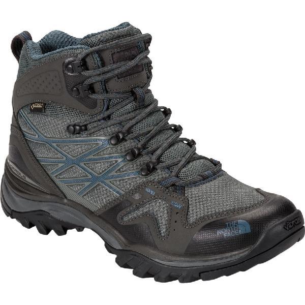 (取寄)ノースフェイス メンズ ヘッジホッグ ファストパック ミッド GTX ハイキング ブーツ The North Face Men's Hedgehog Fastpack Mid GTX Hiking Boot Graphite Grey/Dark Slate Blue