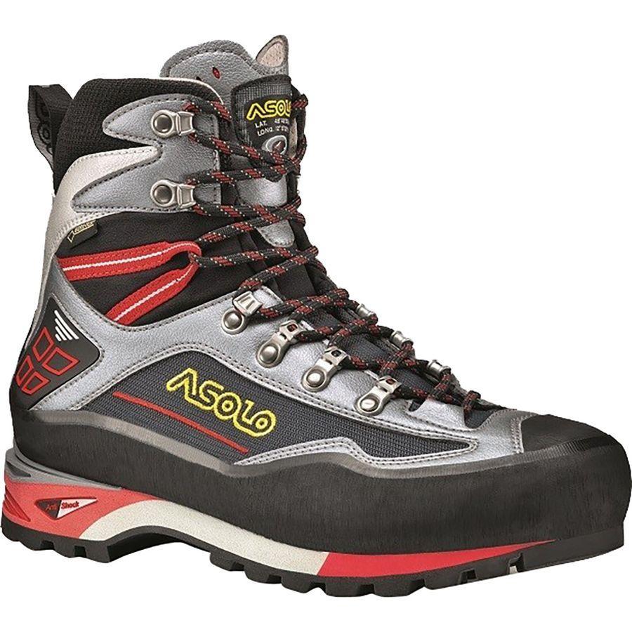 (取寄)アゾロ メンズ パレーテ ノード GV マウンテニアリング ブーツ Asolo Men's Parete Nord GV Mountaineering Boot Gunmetal/Grey