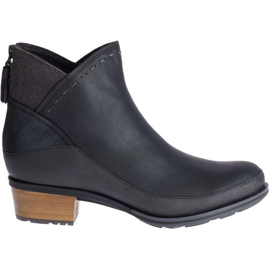 【クーポンで最大2000円OFF】(取寄)チャコ レディース カタルーニャ ミッド ブーツ Chaco Women Cataluna Mid Boot Black
