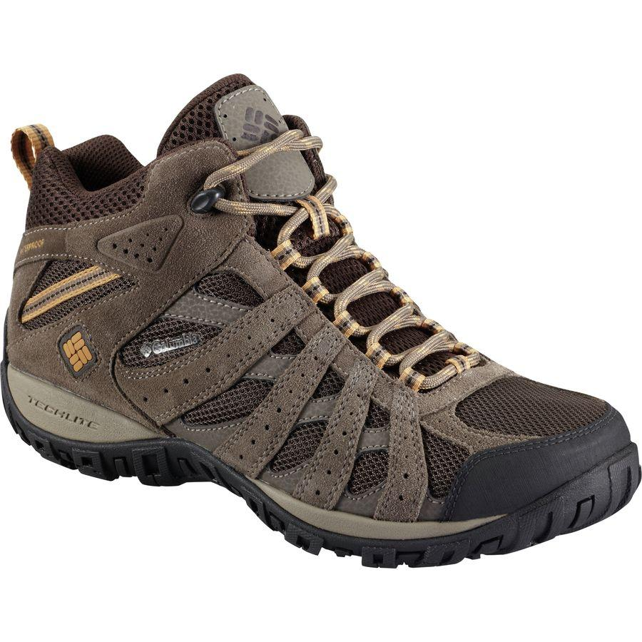 (取寄)コロンビア メンズ レドモンド ミッド ハイキング ブーツ Columbia Men's Redmond Mid Hiking Boot Cordovan/Dark Banana